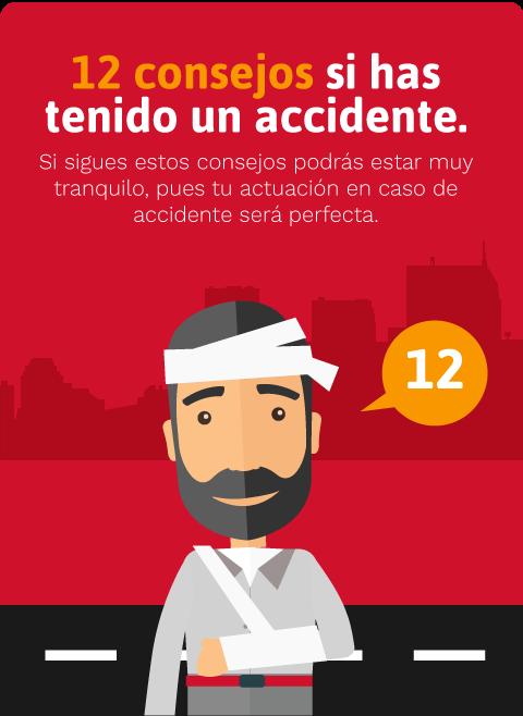 Toda la información en caso de sufrir accidentes de tráfico